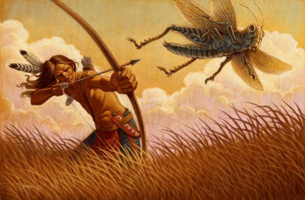 Grasshopper Hunter