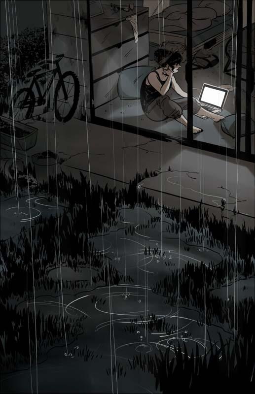 Gloomy Tuesday Night