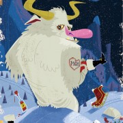Yeti Holiday Card