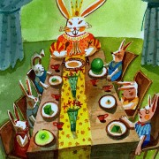 Queen Rabbit's Dinner Table