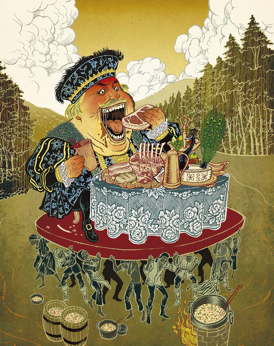 The Myth of Traditional British food