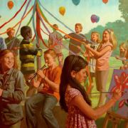 May Day Celebration Mural