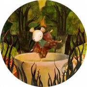 Alice in Wonderland- a Mad Tea-Party-The Dormouse