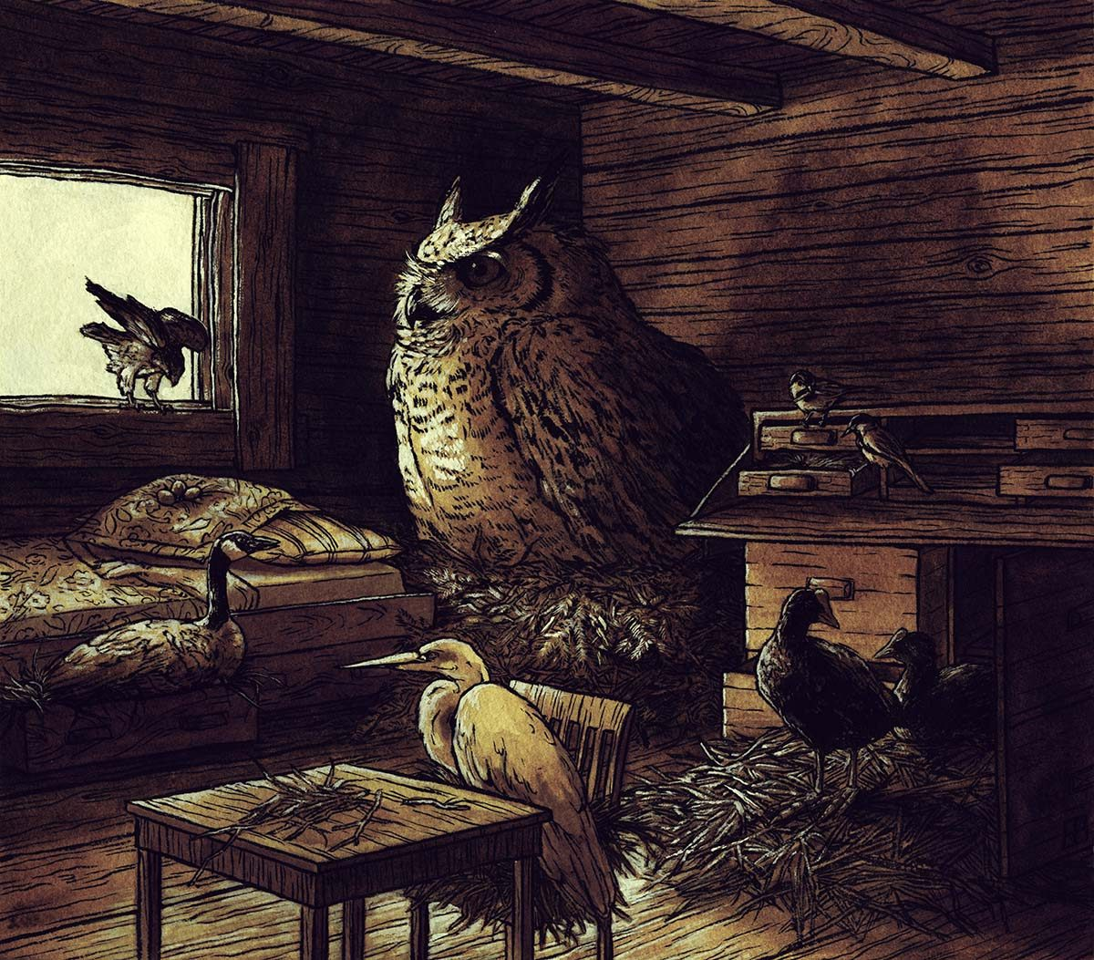 Cabin Roost
