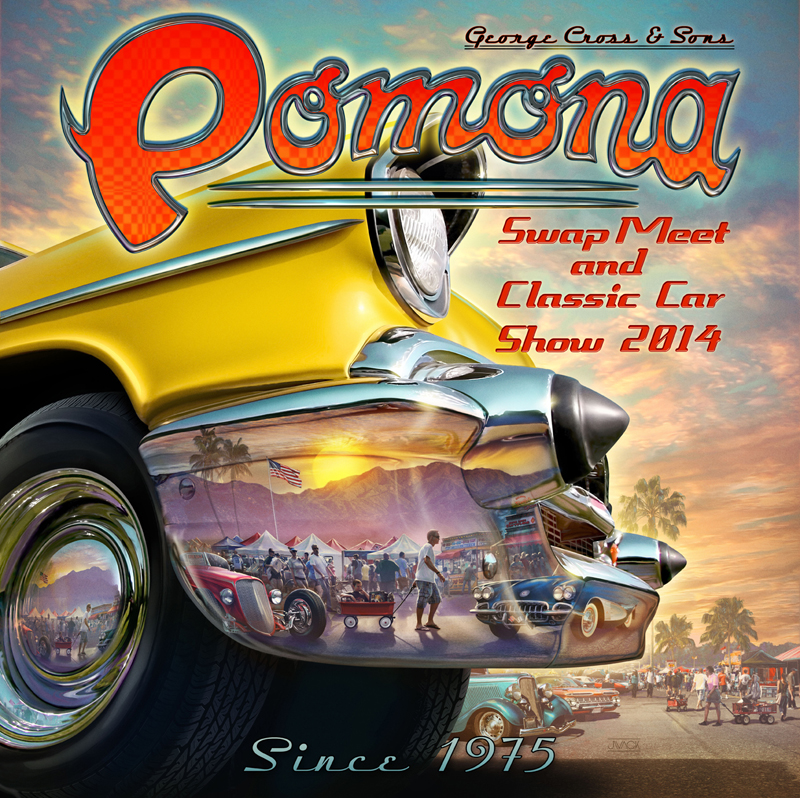 Pomona Swap Meet >> Pomona Swap Meet - Illustration West 52