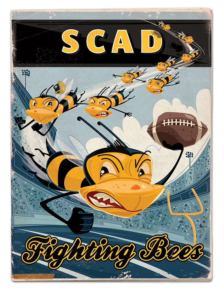 SCAD Fighting Bees