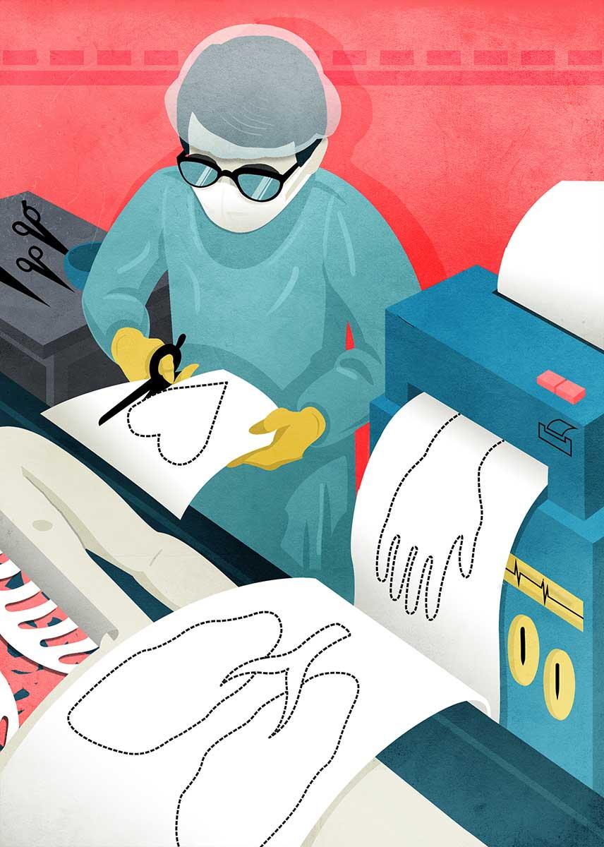 Printed organs