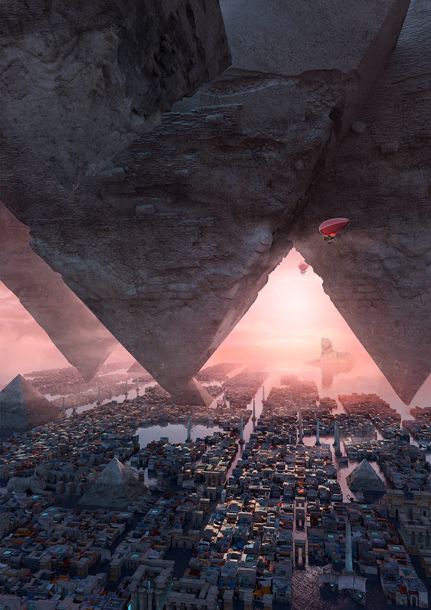 wonders: pyramid of Giza