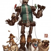 Steampunk Pet-Walker