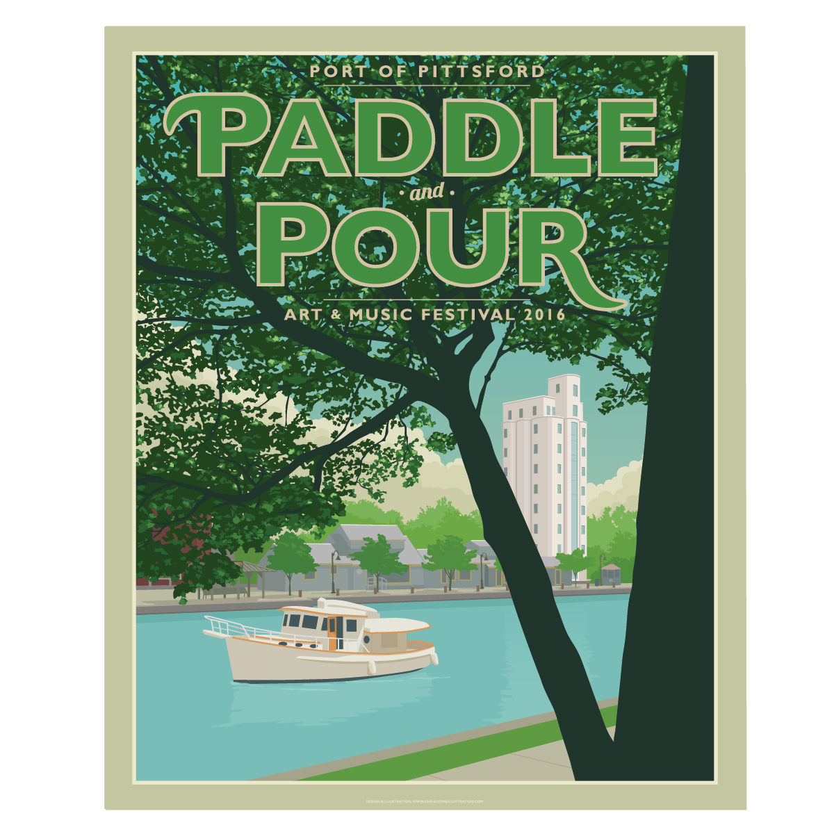 Paddle & Pour Music and Art Festival