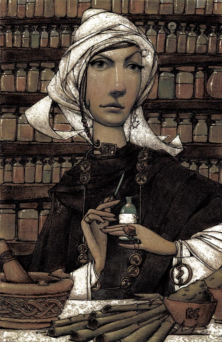 Lucrezia, Apothecary: Specializing in the Treatment and Care of the Heebie-Jeebies