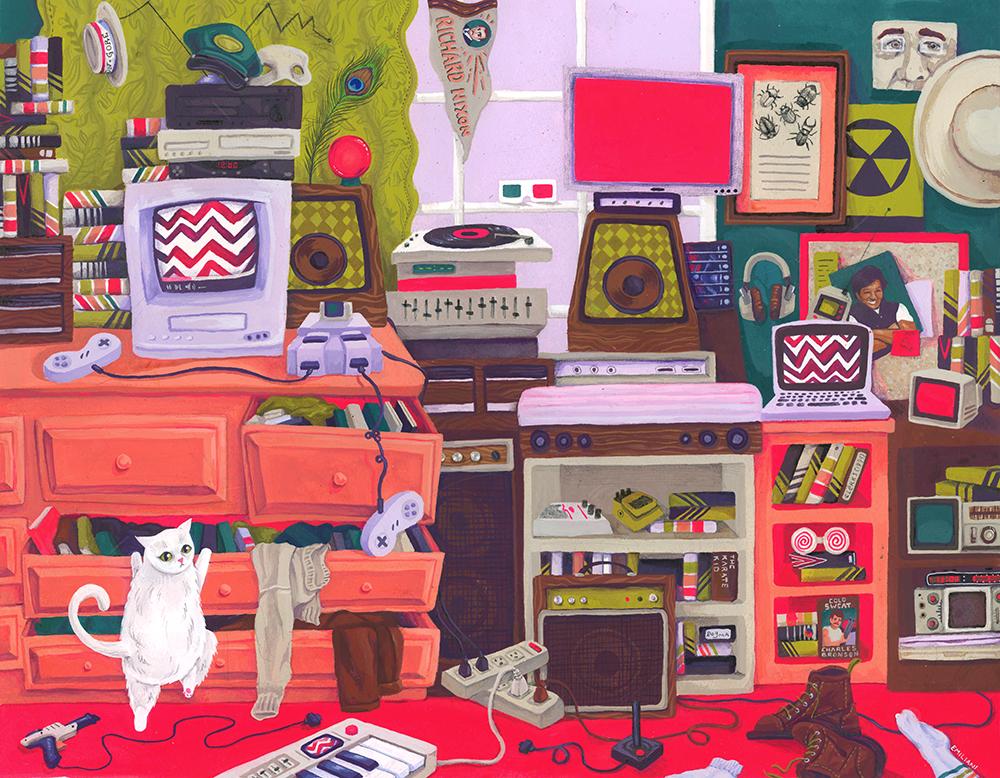 Miles's Room