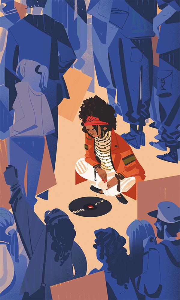 Politics and music in the last Neneh Cherry's album.