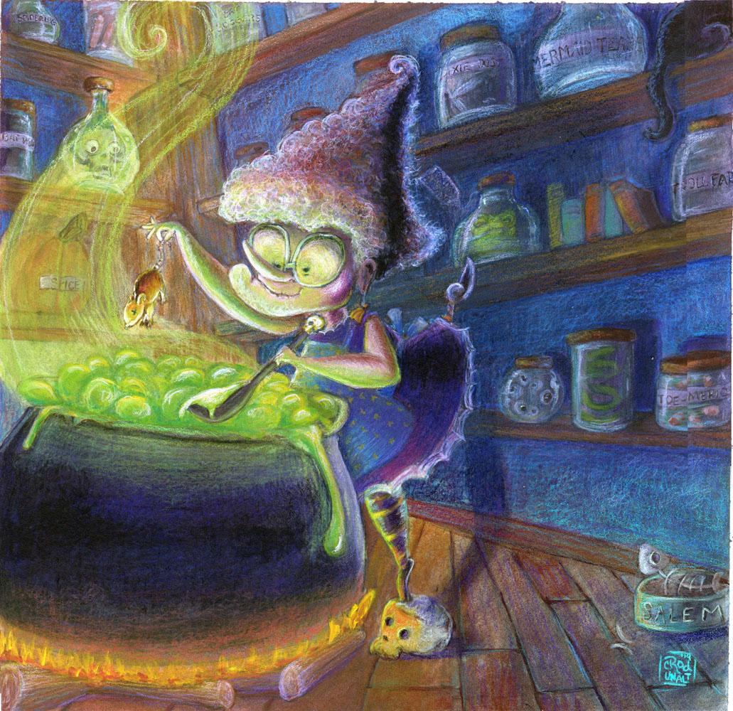 Kitchen Witch- Ratatouille web